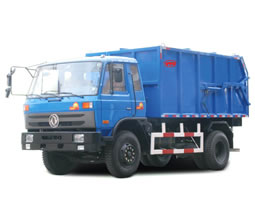 Sealed Garbage Truck